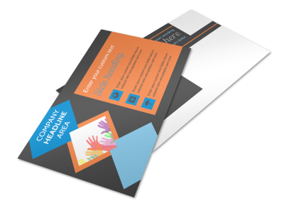 Outreach program Postcard Template 2 preview