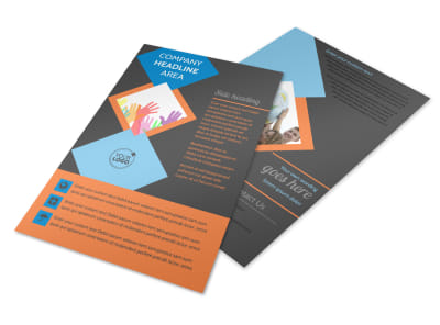Outreach program Flyer Template 3