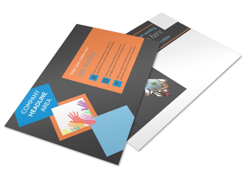 Outreach program Postcard Template