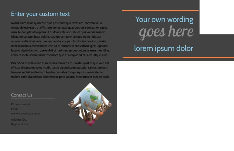 Outreach program Postcard Template Preview 3