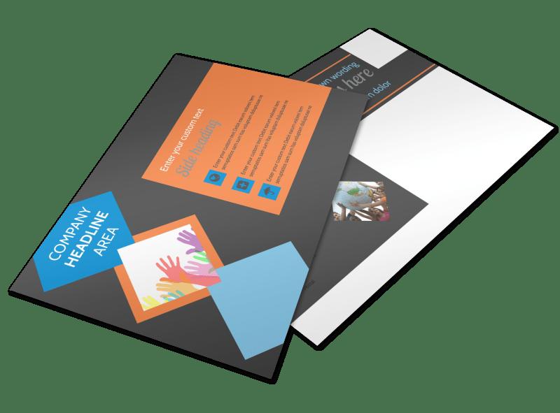 Outreach program Postcard Template Preview 1