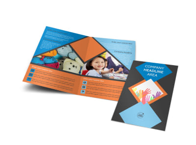 Outreach program Bi-Fold Brochure Template