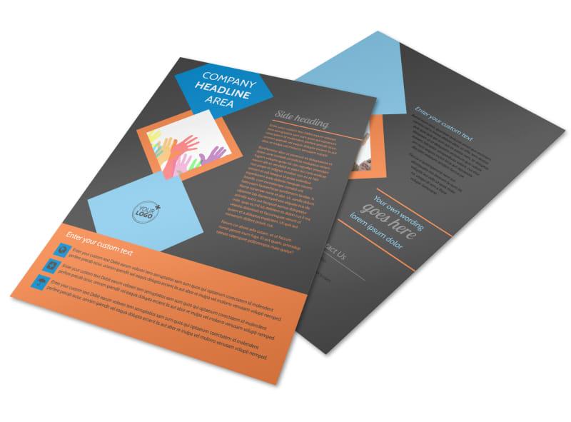 Outreach program Flyer Template Preview 4