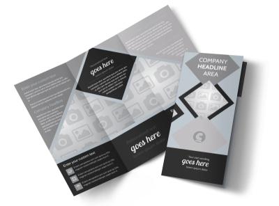 Generic Tri-Fold Brochure Template 8651