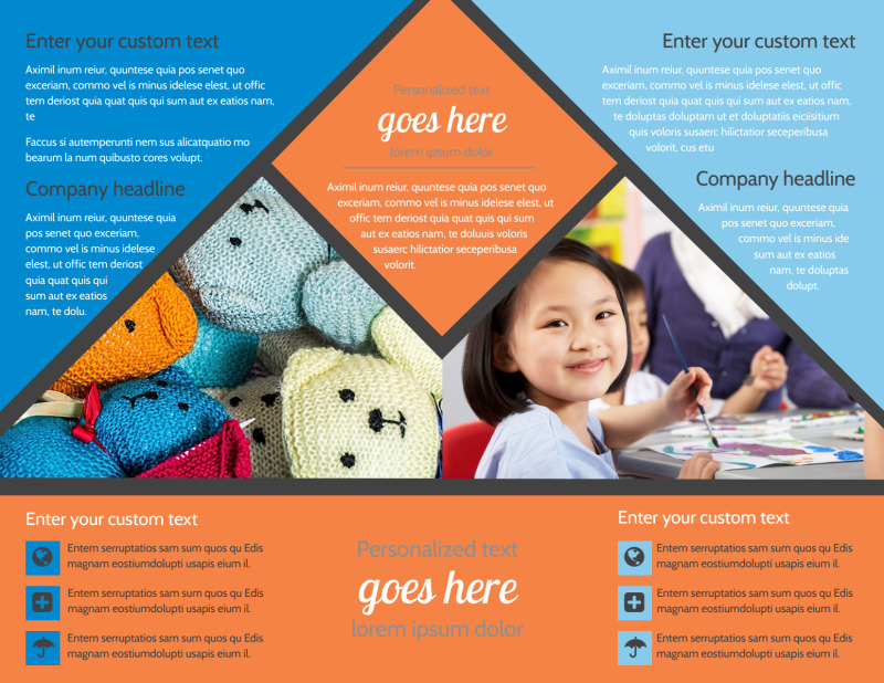 Outreach program Brochure Template Preview 3