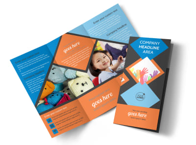 Outreach program Tri-Fold Brochure Template