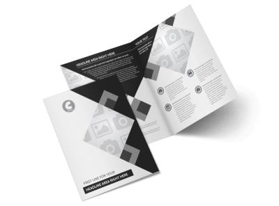 Generic Bi-Fold Brochure Template 8654