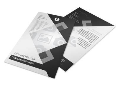 Generic Flyer Template 8656 preview