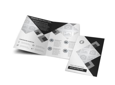 Generic Bi-Fold Brochure Template 8658