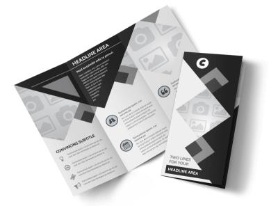 Generic Tri-Fold Brochure Template 8660
