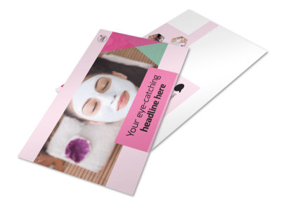 Health & Beauty Spa Postcard Template 2 preview