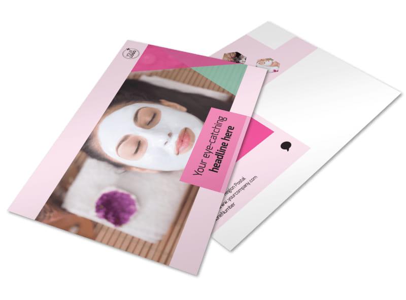 Salon & Day Spa Postcard Template Preview 4