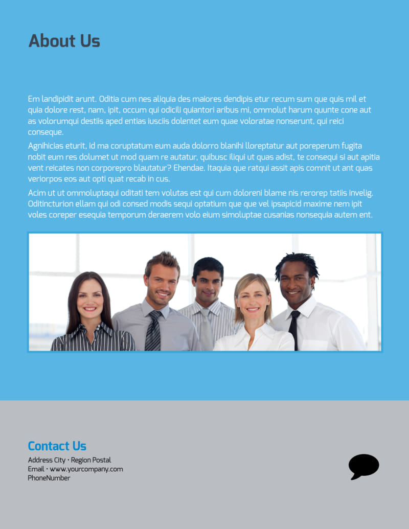 Business Banking Flyer Template Preview 3