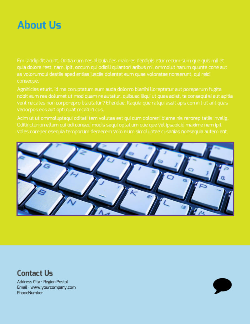 Computer Repair Flyer Template Preview 3