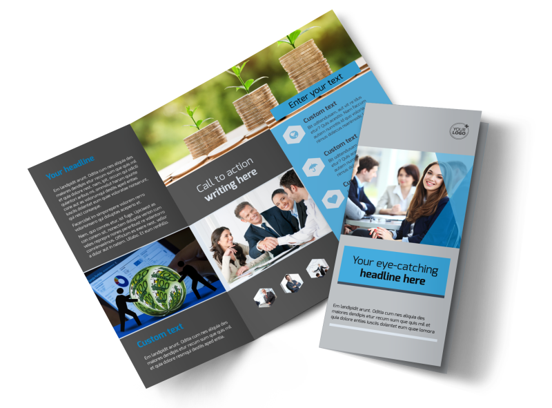 Business Banking Brochure Template Preview 1