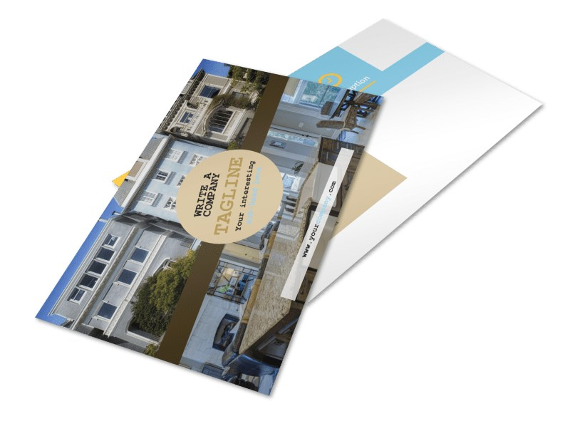 Local Real Estate Agent Postcard Template 2