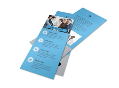 Investment Bank Flyer Template 2