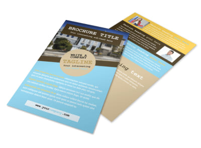 Local Real Estate Agent Flyer Template 3