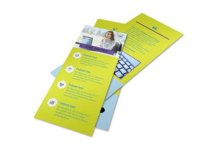 Computer Services & Consulting Flyer Template 2