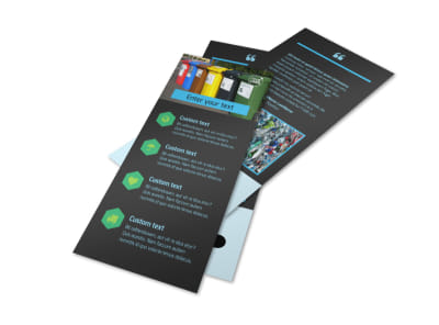 Waste Disposal Flyer Template 2 preview