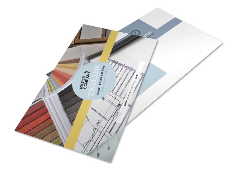 Interior Designer Postcard Template 2
