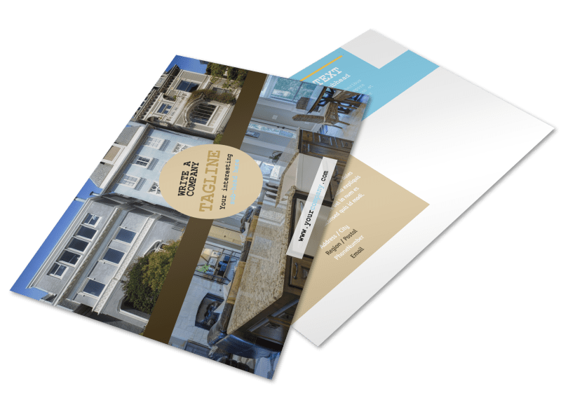 Local Real Estate Agent Postcard Template Preview 1