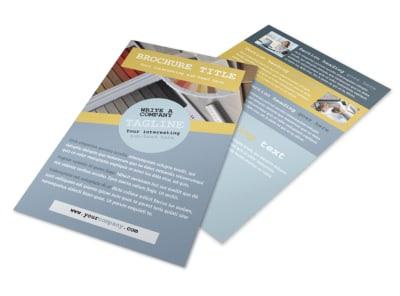 Interior Designer Flyer Template 3