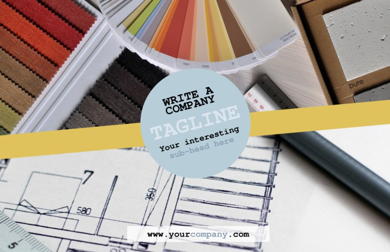 Interior Designer Postcard Template Preview 2