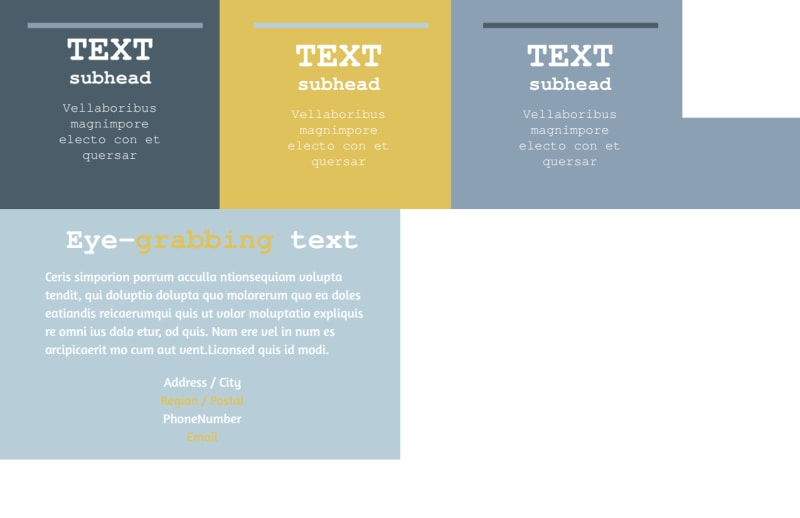 Interior Designer Postcard Template Preview 3
