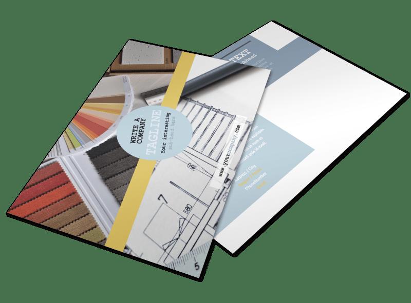 Interior Designer Postcard Template Preview 1