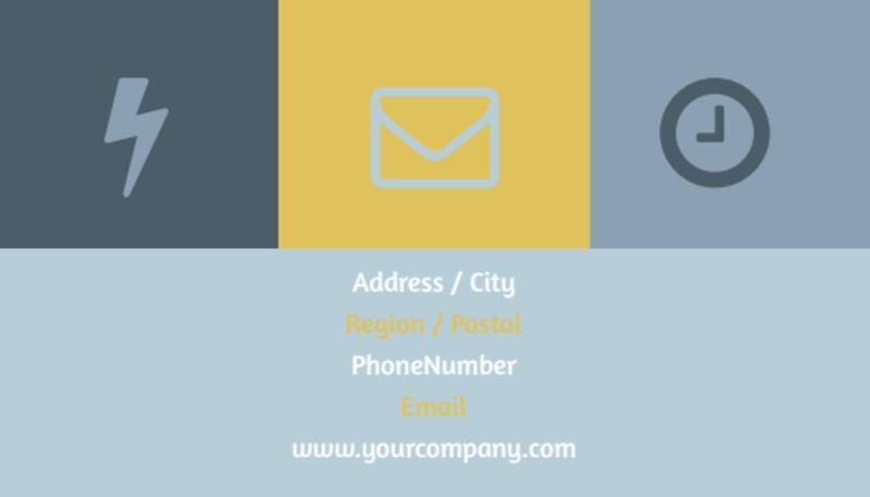 Interior Designer Business Card Template Preview 3