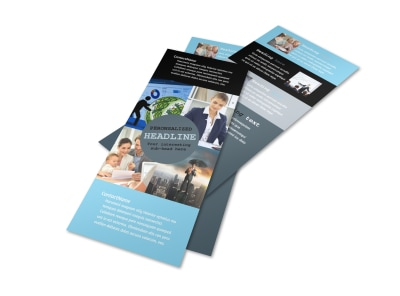 Knowledgeable Financial Consultant Flyer Template 2