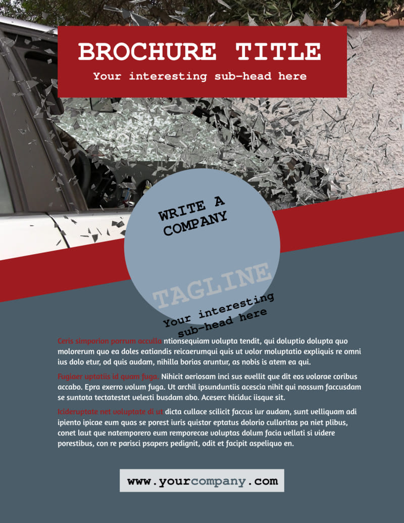 Collision Repair Flyer Template Preview 2