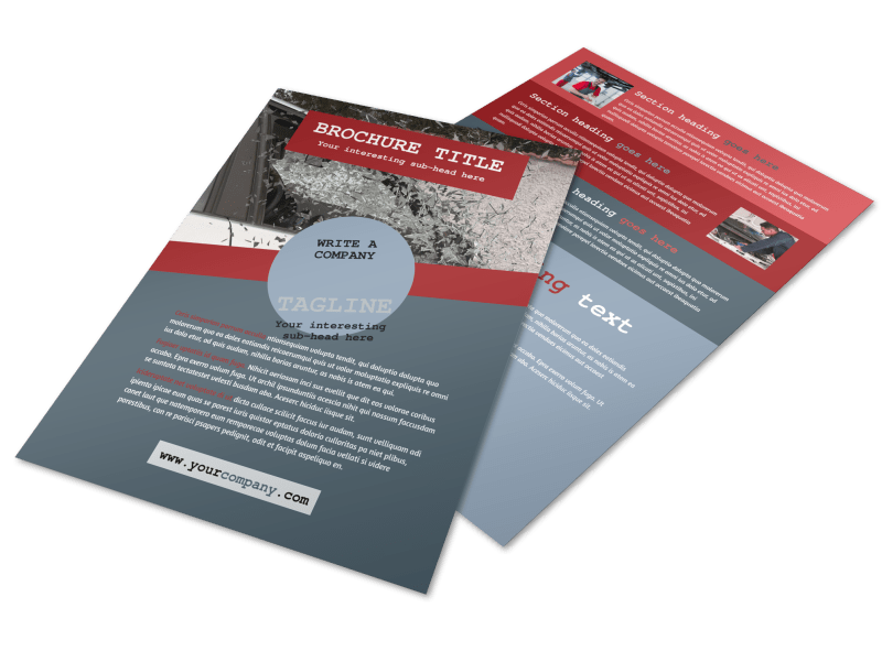Collision Repair Flyer Template Preview 1