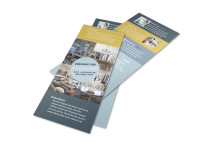 Interior Designer Flyer Template 2 preview