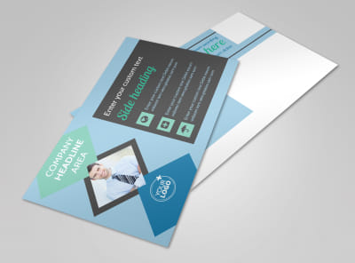 Local Business Consulting Postcard Template 2