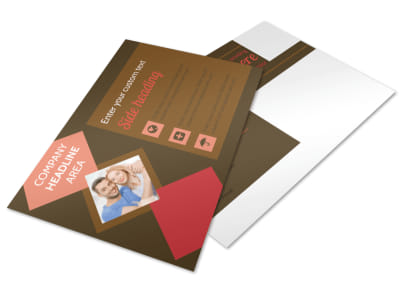 Family & Marriage Counseling Postcard Template 2 preview