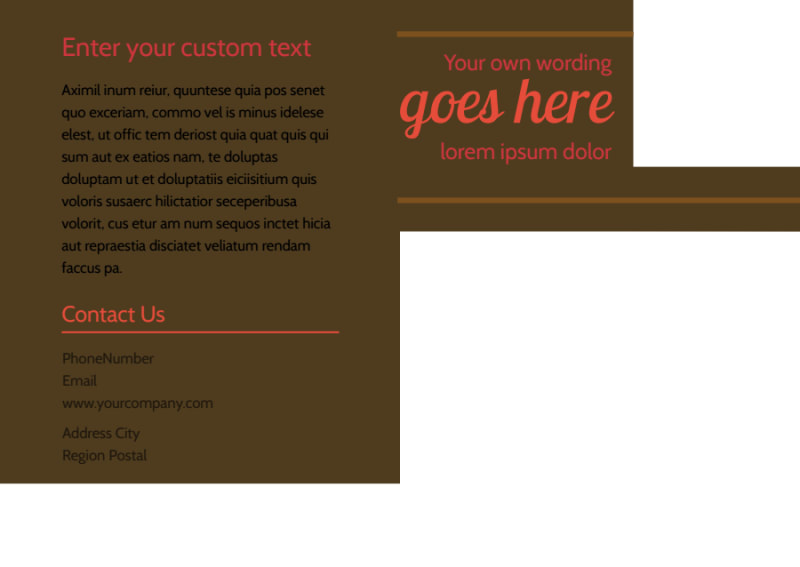 Family & Marriage Counseling Postcard Template Preview 3