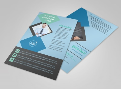 Local Business Consulting Flyer Template 3