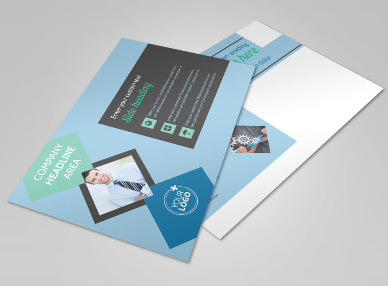 Local business consulting postcard template mycreativeshop local business consulting postcard template cheaphphosting Image collections
