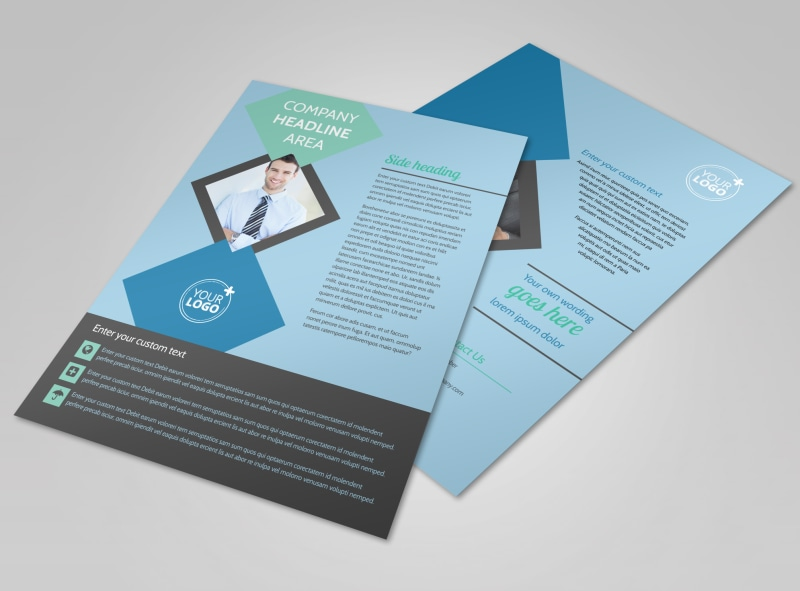 Local Business Consulting Flyer Template MyCreativeShop - Consulting brochure template