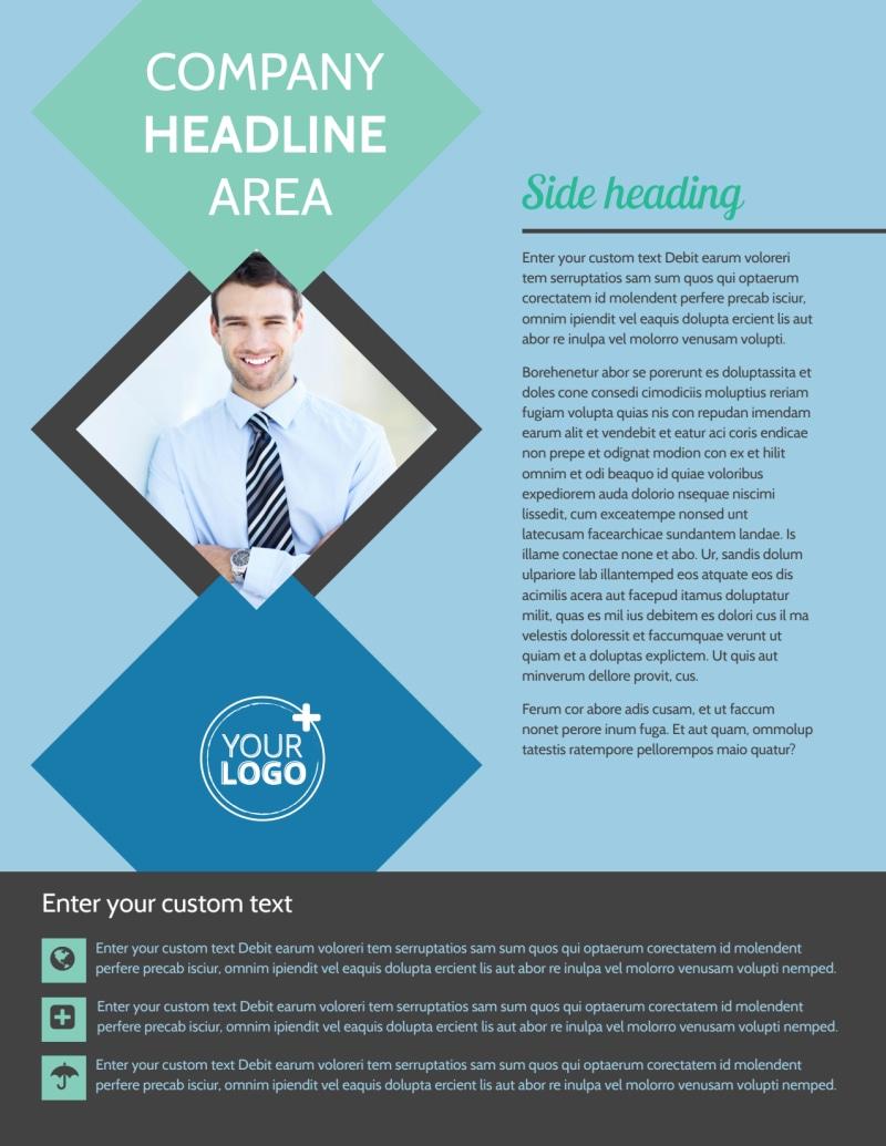 Local Business Consulting Flyer Template Preview 2