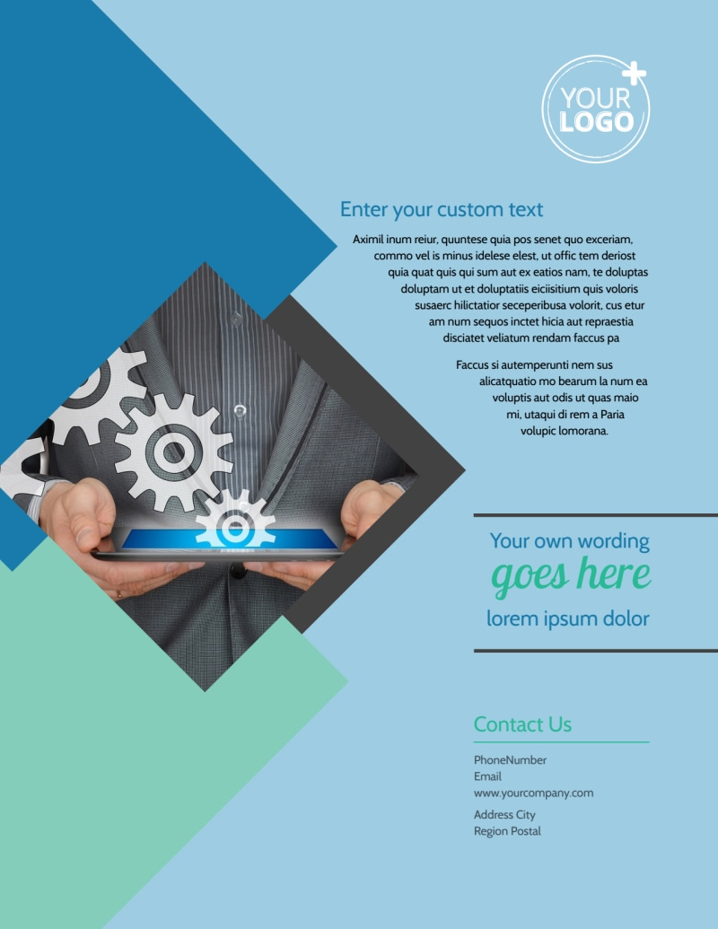Local Business Consulting Flyer Template Preview 3