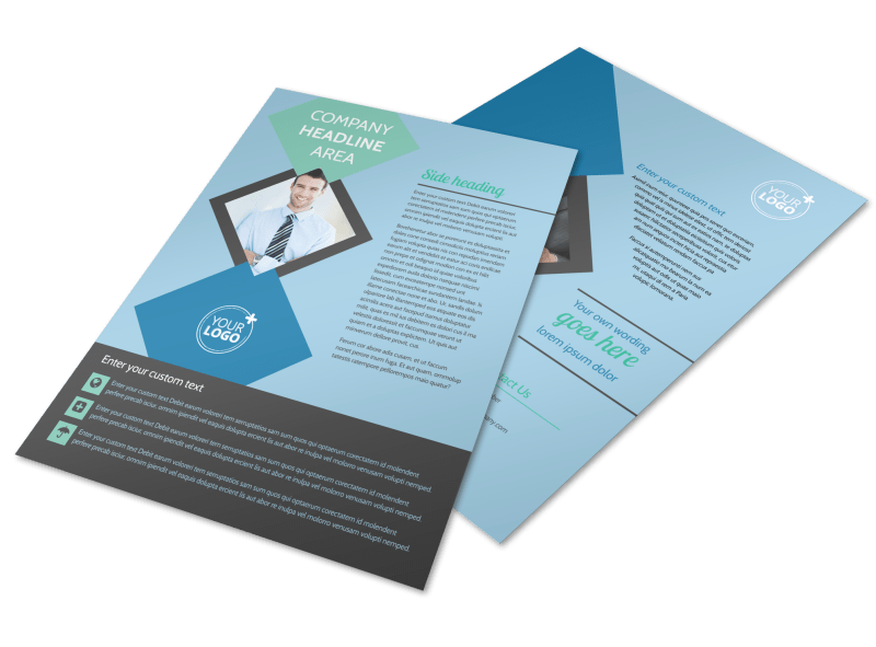 Local Business Consulting Flyer Template Preview 1