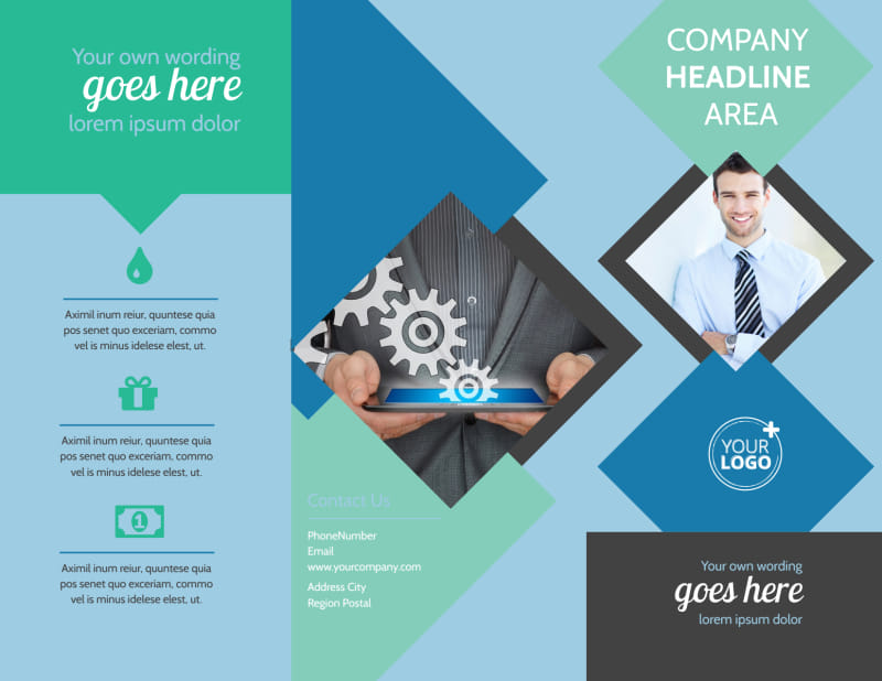 Local Business Consulting Brochure Template Preview 2