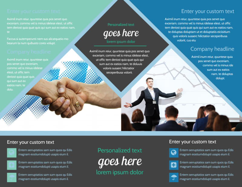 Local Business Consulting Brochure Template Preview 3