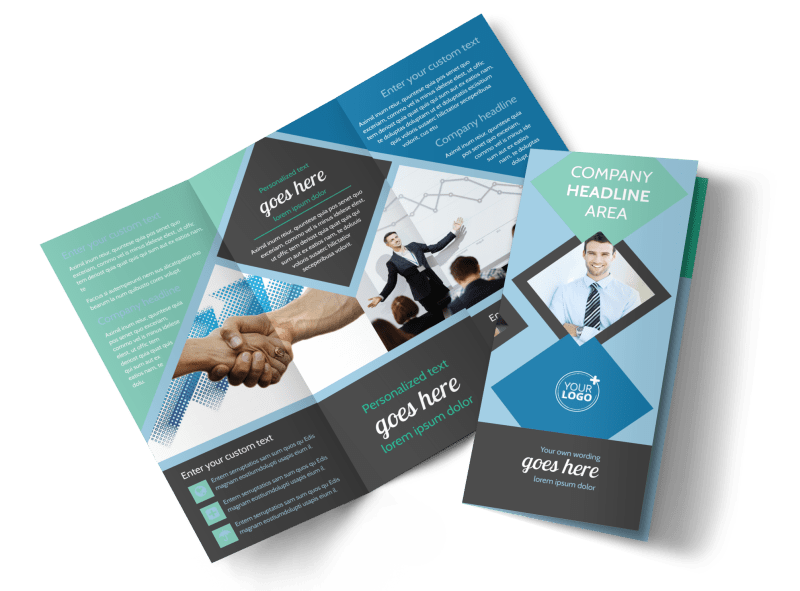 Local Business Consulting Brochure Template Preview 1