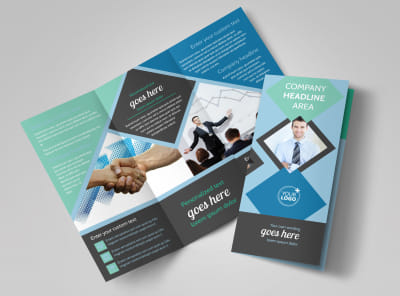 Local Business Consulting Tri-Fold Brochure Template