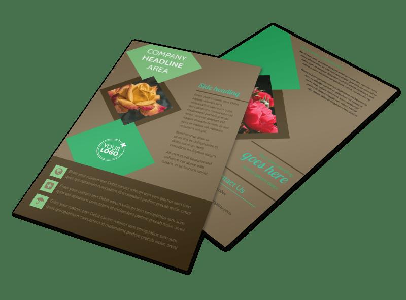 Garden Clubs Flyer Template Preview 1