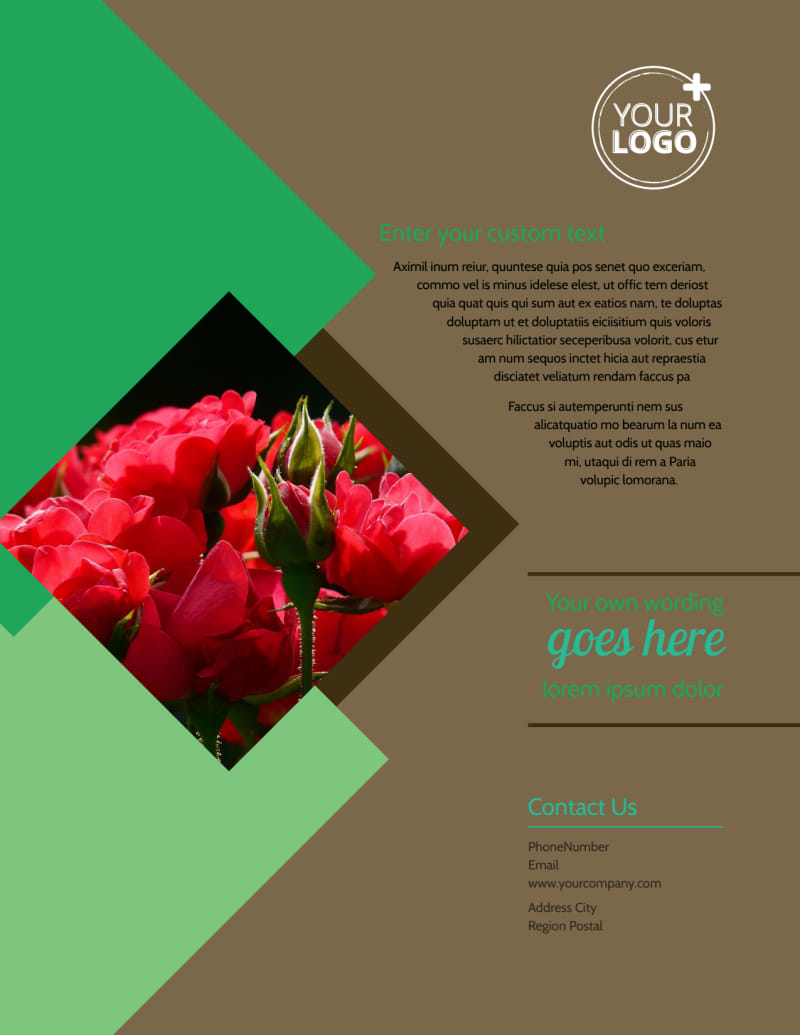 Garden Clubs Flyer Template Preview 3